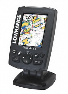 Картплоттер Lowrance Elite-4m HD