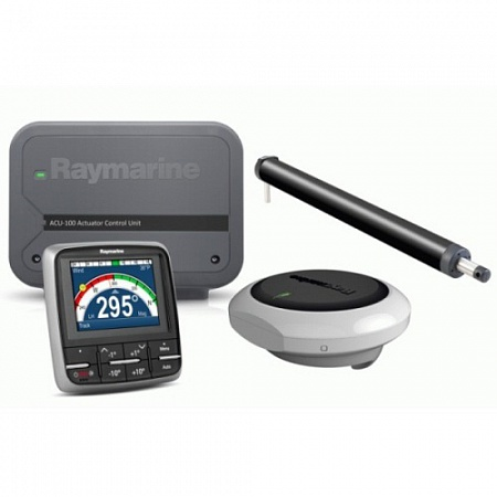 Комплект румпельного автопилота Raymarine Evolution 100 c дисплеем p70 для парусной яхты